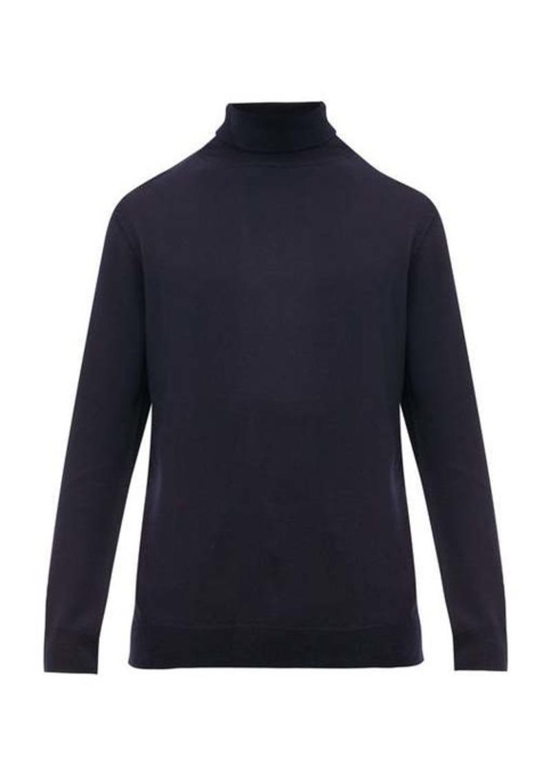 A.P.C. Roll-neck merino-wool sweater