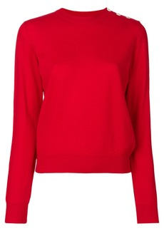 A.P.C. round neck jumper - Red