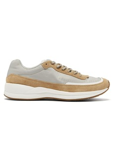 A.P.C. Running technical-canvas trainers
