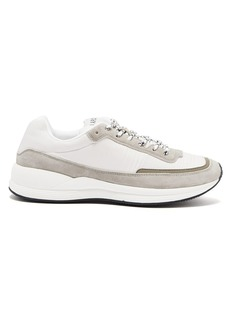 A.P.C. Running technical canvas trainers
