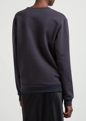 A.P.C. Ryan crew-neck cotton-blend sweatshirt