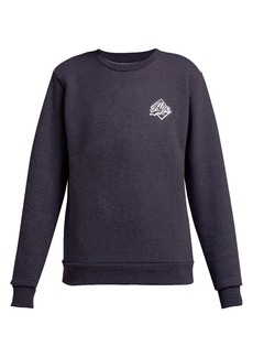 A.P.C. Ryan crew-neck cotton-blend sweatshirt