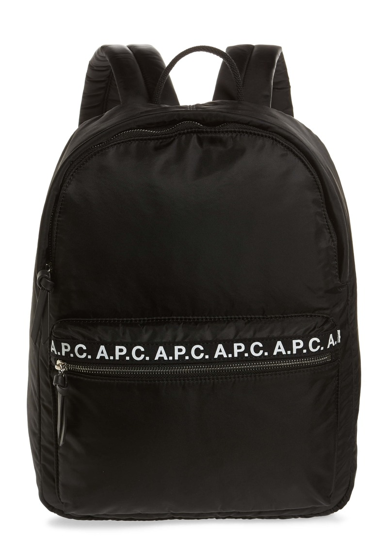 A.P.C. Sac a Dos Marc Nylon Backpack
