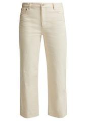 A.P.C. Sailor mid-rise cropped jeans