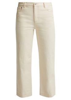 A.P.C. Sailor mid-rise cropped jeans