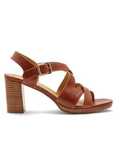 A.P.C. Salma block-heel leather sandals
