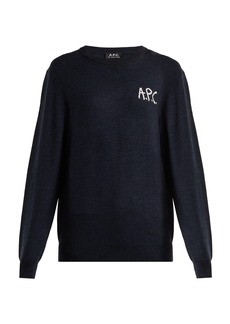 A.P.C. Sapiens merino-wool sweater