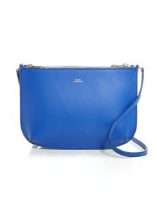 A.P.C. Sarah Leather Shoulder Bag