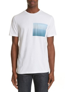 A.P.C. Seaview Print Pocket T-Shirt