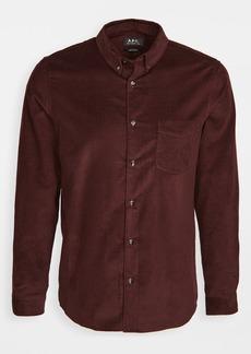 A.P.C. Serge Corduroy Button Down Shirt