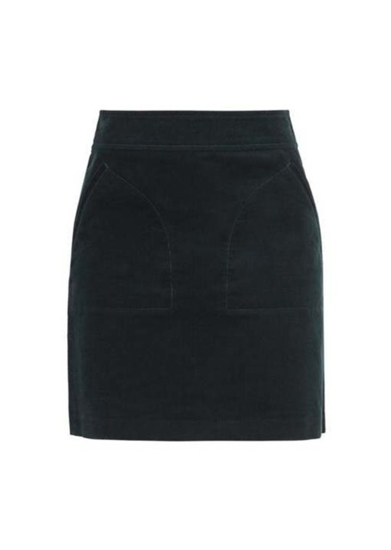 A.P.C. Shayana cotton-corduroy mini skirt