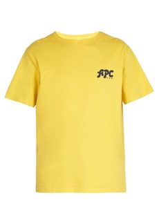 A.P.C. Sid logo-print cotton T-shirt