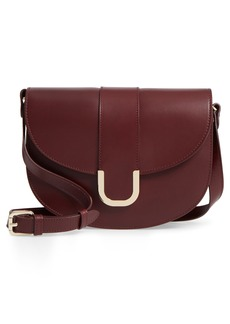 A.P.C. Soho Calfskin Leather Saddle Bag