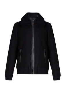 A.P.C. Stacey wool bomber jacket