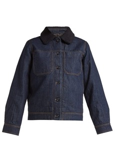 A.P.C. Steffie raw denim jacket
