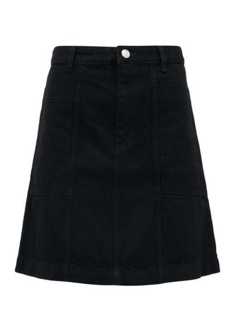 A.P.C. Stella A-line denim mini skirt