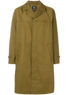 A.P.C. straight fit jacket - Green