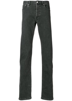 A.P.C. straight leg jeans - Grey