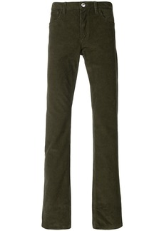 A.P.C. straight-leg trousers - Green