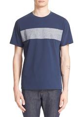 A.P.C. Stripe Cotton Jersey T-Shirt