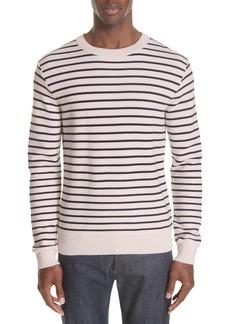 A.P.C. Striped Crewneck Sweater