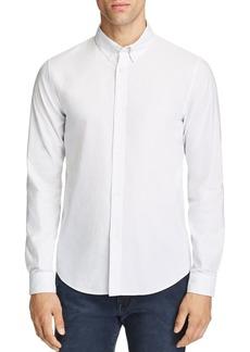A.P.C. Striped Regular Fit Button-Down Shirt