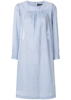 A.P.C. striped smock dress - Blue