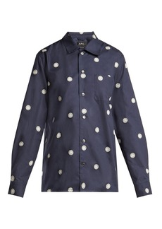 A.P.C. Sun cotton shirt
