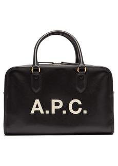 A.P.C. Sylvie logo-print bag