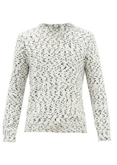 A.P.C. Tino speckled cotton sweater