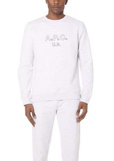A.P.C. US Star Sweatshirt
