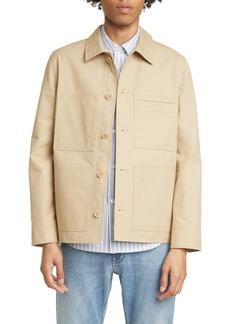 A.P.C. Veste Andre Button-Up Shirt Jacket