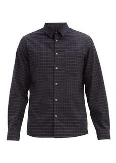 A.P.C. Vico checked cotton-twill shirt