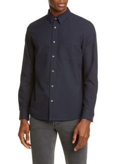 A.P.C. Vico Plaid Button-Up Flannel Shirt