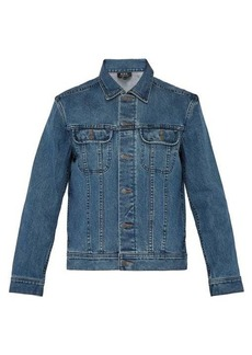 A.P.C. Washed denim jacket