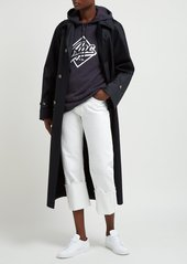 A.P.C. Wayne hooded cotton-blend terry sweatshirt