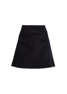 A.P.C. Wright corduroy mini skirt