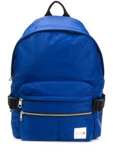A.P.C. x Carhartt logo backpack