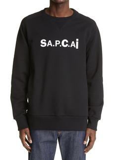 A.P.C. x Sacai Tani Logo Sweatshirt