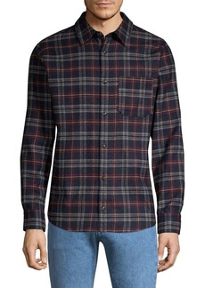 A.P.C. Attic Plaid Button-Down Shirt