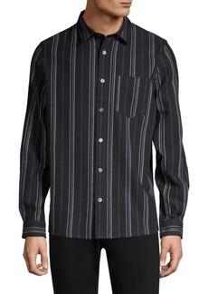 A.P.C. Babtiste Stripe Button-Down Shirt
