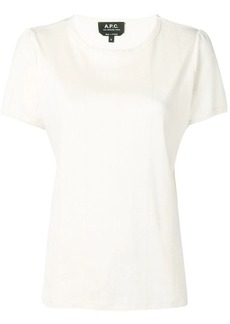 A.P.C. basic shortsleeved T-shirt