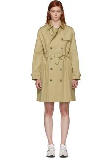 A.P.C. Beige Josephine Trench Coat