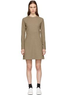 A.P.C. Beige Maddy Dress