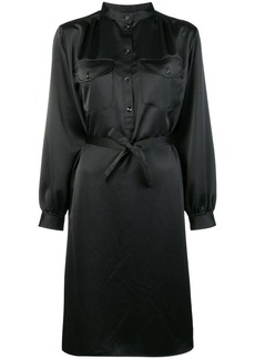 A.P.C. belted midi shirt dress