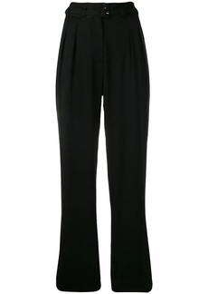 A.P.C. belted straight trousers