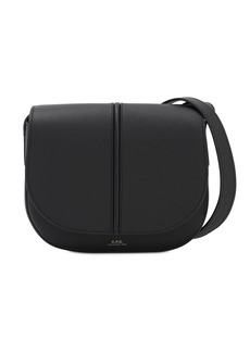 A.P.C. Betty Saffiano Leather Bag