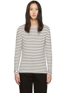 A.P.C. Black & White Beauvoir T-Shirt