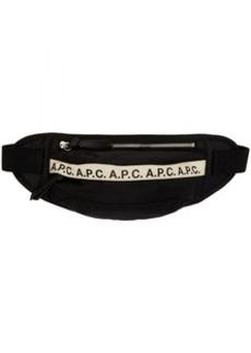 A.P.C. Black Banane Camden Fanny Pack
