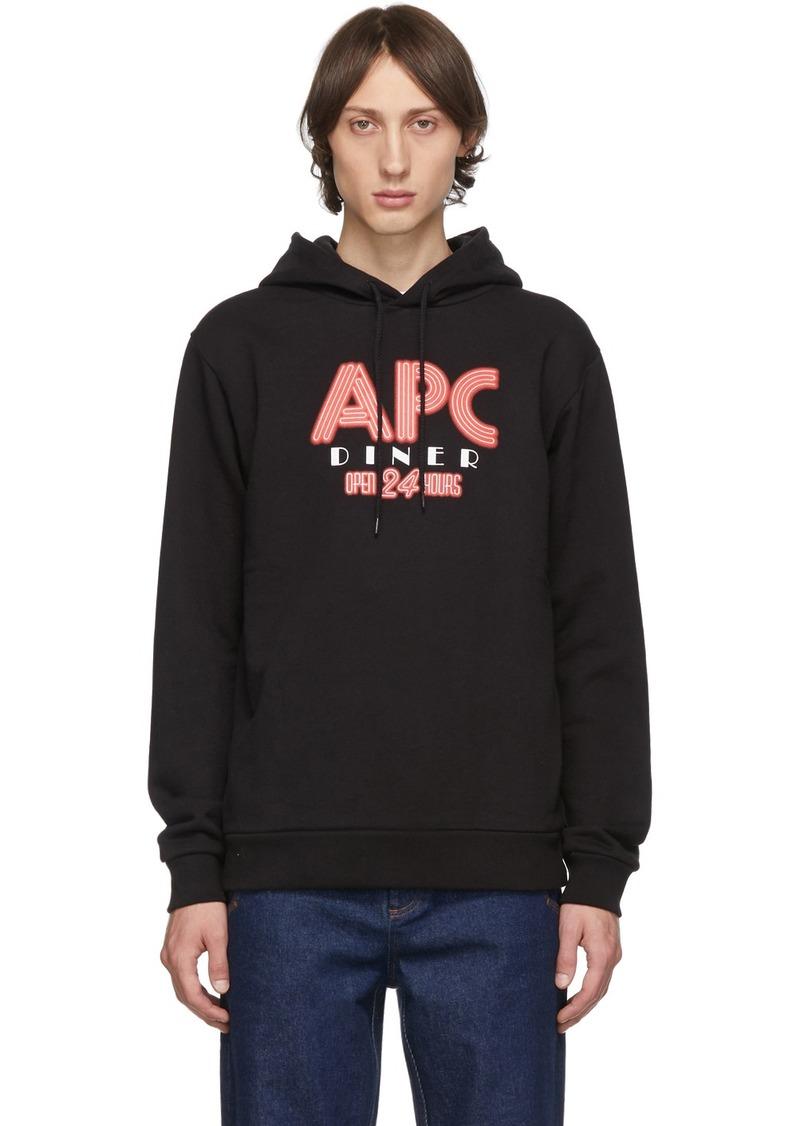 A.P.C. Black Benito Hoodie